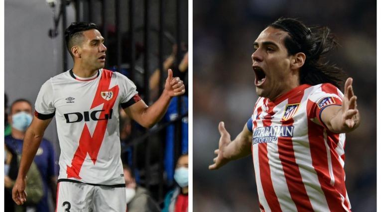 Falcao García, Rayo Vallecano y Atlético de Madrid