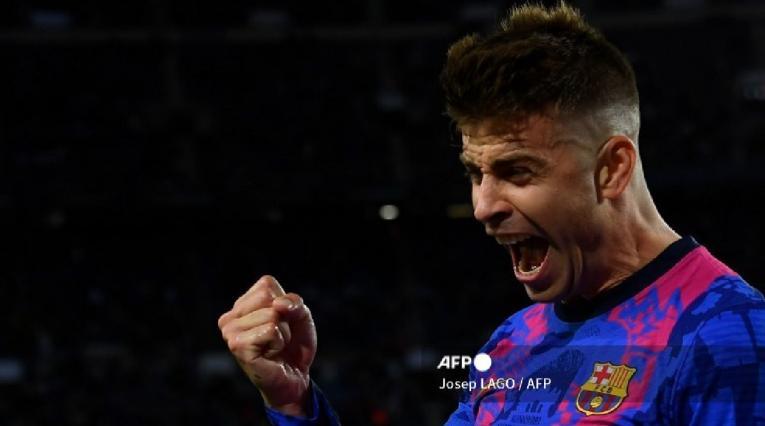 Gerard Piqué, Barcelona, Champions League 21/22
