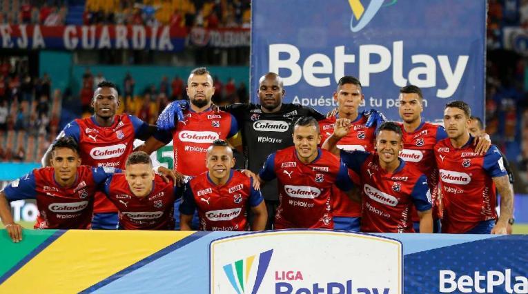 Independiente Medellín en la tabla de posiciones