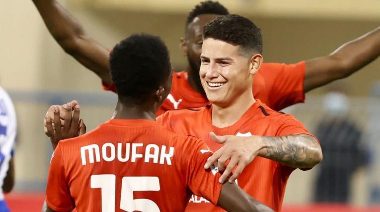 James Rodríguez, Al Rayyan, Liga de Qatar