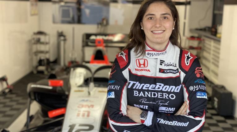Tatiana Calderón - en la Súper Fórmula Japonesa