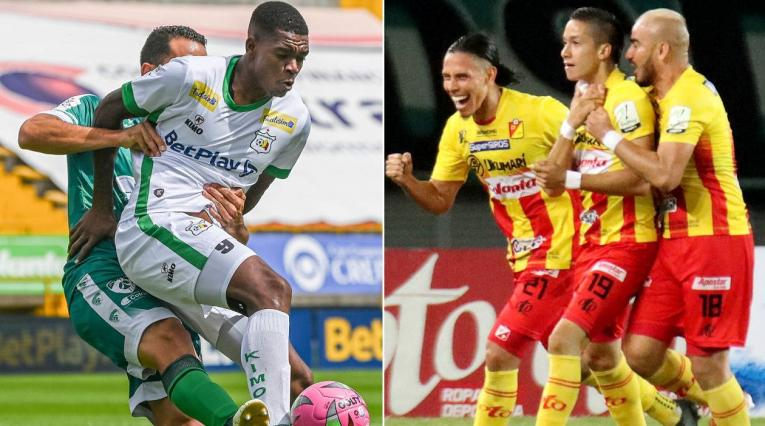 Quindío, Deportivo Pereira, Liga Betplay, Tabla del descenso