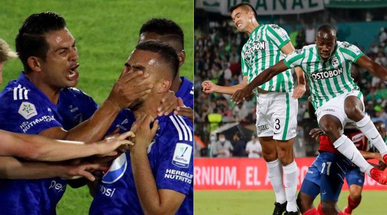Millonarios, Atlético Nacional, Liga Betplay