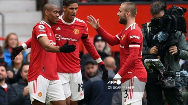 Varane, jugador del Manchester United