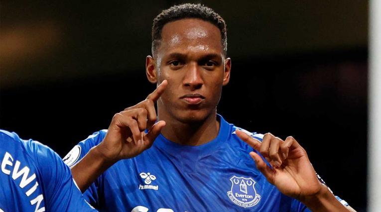 Yerry Mina noticias, Everton hoy
