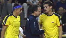 Copa Davis: Argentina Vs. Colombia