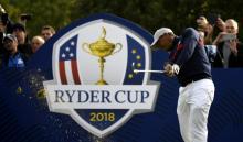 Tiger Woods en la Ryder Cup 2018