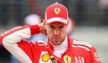 Sebastian Vettel escolta a Lewis Hamilton en la general de la Fórmula 1