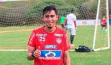 Fabián Sambueza, jugador con pocos minutos en el Junior de Barranquilla