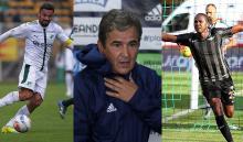 Andrés Pérez, Jorge Luis Pinto y Hugo Rodallega