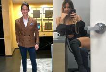 La modelo habría pasado Navidad junto a la familia del jugador de la Selección Colombia.