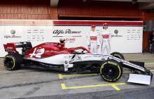 Nuevo monoplaza del Alfa Romeo Sauber