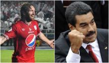 Fernando Aristeguieta y Nicolás Maduro