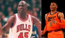 Russell Westbrook, a punto de superar a Michael Jordan en triples-dobles