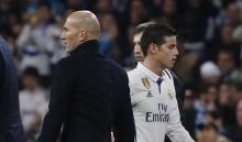 Zidane - James, en el Real Madrid