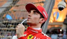 Charles Leclerc fue el piloto destacado por la Fórmula 1 durante el fin de semana