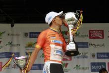 Jesús Peña, ganador de la Vuelta a la Juventud