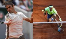 Roger Federer y Rafael Nadal
