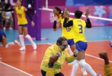 Un 2-2 en los set alcanzó a ilusionar a los colombianos con la medalla de oro.