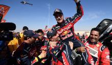 Carlos Sainz ganó su tercer Dakar