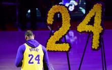 Lebron James - homenaje a Kobe Bryant