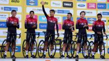 Team Ineos en el Tour Colombia 2020