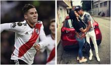 Quintero, Sebastián Villa y su exnovia