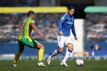 James Rodríguez, Everton vs West Bromwich