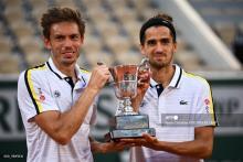Herbert y Mahut, tenistas franceses