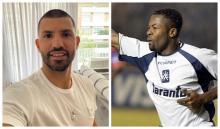 Kun Agüero y Jairo Castillo