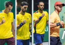 Equipo Colombia Colsanitas para Copa Davis