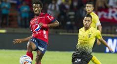 Didier Moreno jugando para el Independiente Medellín