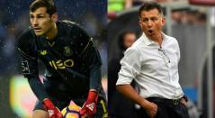 Iker Casillas (Arquero - Oporto) y Juan Carlos Osorio (DT - México)