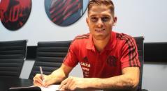Gustavo Cuellar mediocampista de Flamengo