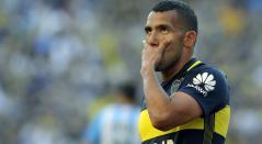 Carlos Tévez, delantero de Boca Juniors