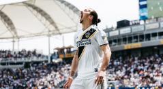 Zlatan Ibrahimovic delantero de LA Galaxy