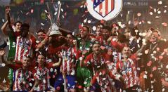 Atlético de Madrid campeón de la UEFA Europa League 2017/2018