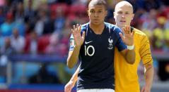 Kylian Mbappé, jugador de Francia