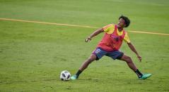 juan Guillermo Cuadrado entrenamiento Colombia