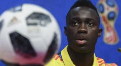Davinson Sánchez, defensor colombiano