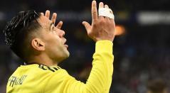 Falcao García celebrando un gol con la Selección Colombia