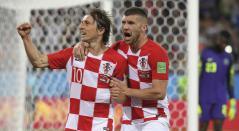 Modric, estrella de Croacia y Real Madrid