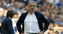 José Mourinho, técnico del Manchester United.