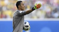 Keylor Navas se destacó pese a la derrota ante Costa Rica