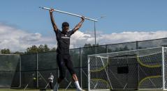Marcus Rashford recuperándose para el inicio del Mundial