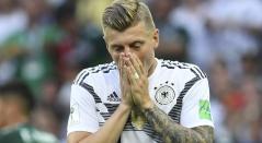 Toni Kroos en el debut de su Selección frente a México
