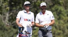Dustin Johnson líder provisional del US Open