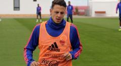 Santiago Arias entrenando en Kazan