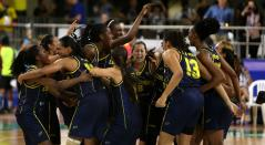 Colombia Cuba Baloncesto Femenino 5