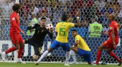 Brasil vs Bélgica Rusia 2018
